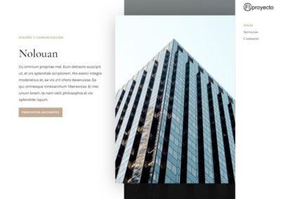 Firma de Arquitectos